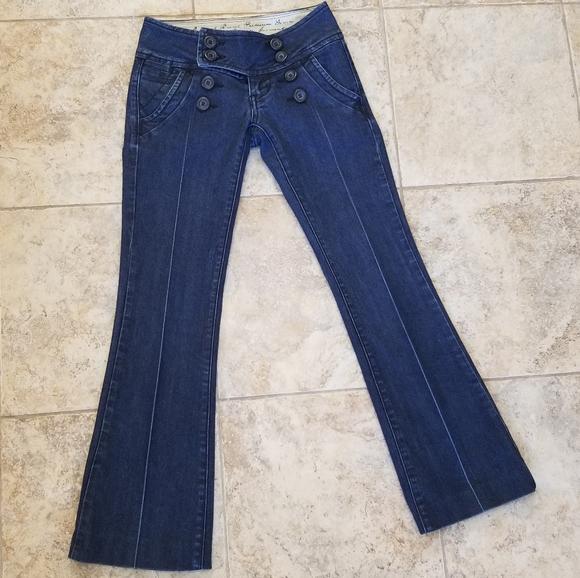 Zana Di Denim - Zana Di Great Condition Flare Stretchy Blue Jeans